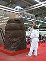 Quetzalcoatlsculptuur Callebaut.JPG