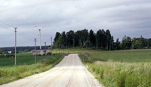 Kretinga District Municipality - Landscape near Rūdaičiai