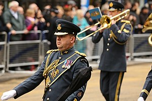 Central Band of the Royal Air Force - The Central Band at the funeral of Margaret Thatcher.
