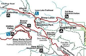 Horseshoe Park - Courtesy of Rocky Mountain National Park