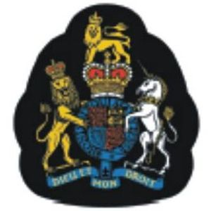 Warrant Officer of the Naval Service - RN WO1 Sleeve Badge cropped