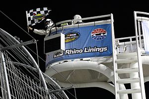Las Vegas Spring Race - The checkered flag flies at the 2015 race