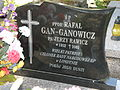 Rafał Gan-Ganowicz - nagrobek.jpg