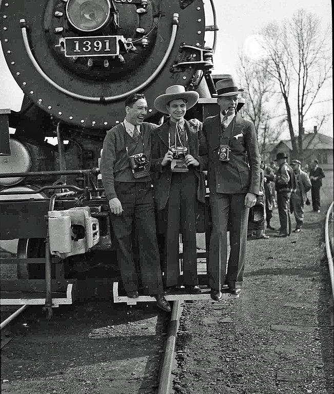 Excursion train this photo may have been taken in thurston ohio