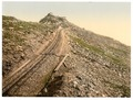Railway, at the summit, Snowdon, Wales-LCCN2001703552.tif