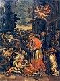 Raimondo De Dominici - Saint Carolus Borromeus gives communion to plague victims.JPG