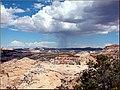 Rain on Utah Badlands 9-07 (8525743304).jpg