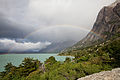 Rainbow and Lago Nordenskjold 2.jpg