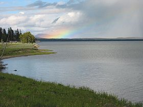 Rainbow over yellowstone lake.jpg