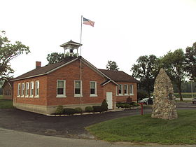 Raisinville Township Michigan hall.jpg