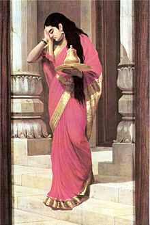 Raja Ravi Varma, Pleasing.jpg