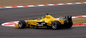 Ralph Firman - Firman driving for Jordan at the 2003 French GP.