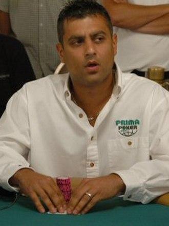 Ram Vaswani - Ram Vaswani at the 2005 World Series of Poker