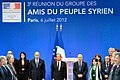 """Randa Kassis at the conference """"The Group of Friends of the Syrian People"""".jpg"""