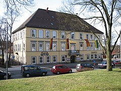 The Town Hall in Clausthal-Zellerfeld