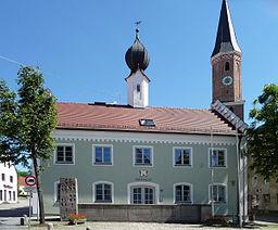 Das Rathaus von Pfeffenhausen