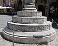 Ravenna, piazza del popolo, colonne di pietro lombardo, 1483, 01.JPG