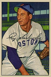 Ray Scarborough American baseball player and coach