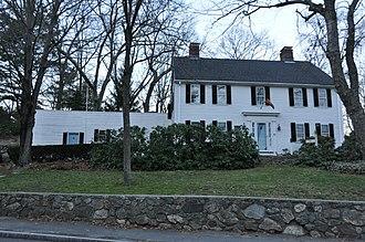 Nathaniel Batchelder House - Image: Reading MA Nathaniel Batchelder House
