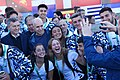 Recibimiento atletas olimpicos argentinos 2.jpg