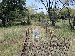 Red River Station, Texas - Image: Red River Station Cemetery 3