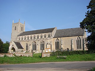 St Marys Church, Redgrave Church in Suffolk, England