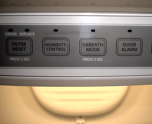 Refrigerator sabbath mode