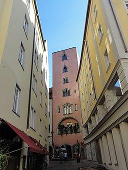 Baumburger Turm, Geschlechterturm in Regensburg