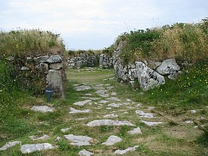 Chysauster Ancient Village - Entrance to one of the houses