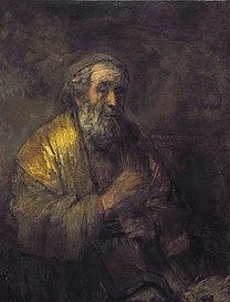 REMBRANDT Harmenszoon van Rijn Homer 1663