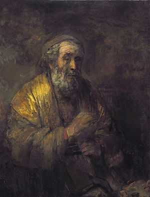 Homeric Question - Rembrandt's Homer (1663)