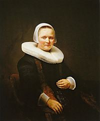 Rembrandt Portrait of a woman, possibly Anna Wijmer.jpg