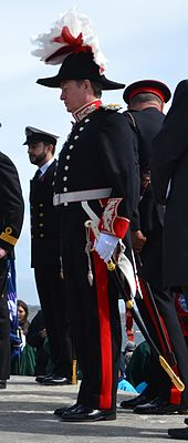 06d8ae8f8 Colin Roberts in governor s uniform (post-1961 version) on Remembrance  Sunday (Falkland Islands