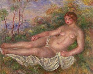 Reclining Woman Bather