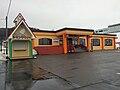 Restaurant of roadside station Urahoro.jpg