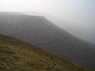 Rhos Dirion mountain in United Kingdom