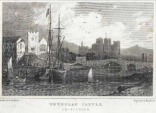 Rhuddlan Castle, Flintshire