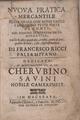 Ricci - Nuova pratica mercantile, 1659 - 4672269.tif