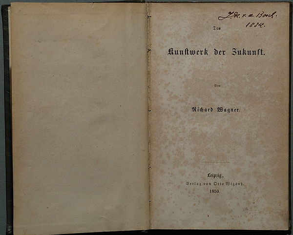 richard wagner research paper Buy research papers buy term papers research papers richard wagner's libretto and der ring des nibelungen can arguably be described as one of the best.