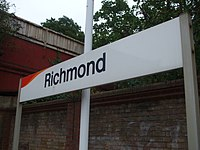 Richmond station signage.JPG