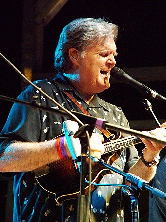 Five-time award winner Ricky Skaggs (along with Kentucky Thunder), performing in 2007 Ricky skaggs performing.jpg