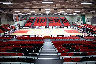 Leicester Riders - The Morningside Arena, used since 2016