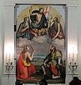Ridolfo del Ghirlandaio, la Madonna e il Battista che intercedono presso Cristo per Prato (1530).jpg