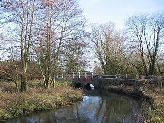 River Wylye - River Wylye at Norton Bavant
