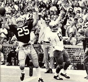 Rob Lytle - Lytle scores a Michigan touchdown, 1974
