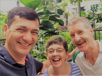 International School of Kuala Lumpur - Image: Rob Thompson, ISKL Finance Director, Lynn Thompson, retired ISKL elementary teacher & Nigel Cumberland, ex School Treasurer & Board Member