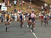 Robbie McEwen 2007 Bay Cycling Classic 1