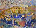 Robert Antoine Pinchon, Paysage, oil on canvas, 72.5 x 92 cm.jpg