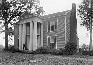 National Register of Historic Places listings in Limestone County, Alabama - Image: Robert Donnell House 1935 HABS 01