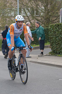 Robert Hunter podczas Tour de Romandie 2010